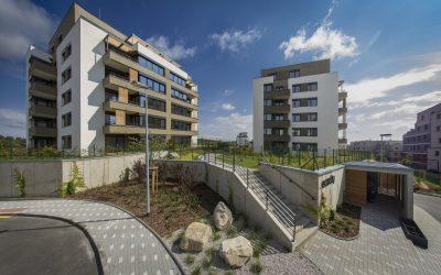 Bytové domy Ecocity  Malešice