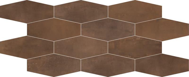 metalická mozaika INTERNO 9 Rust