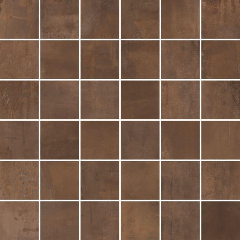 metalické dlaždice INTERNO 9 Rust