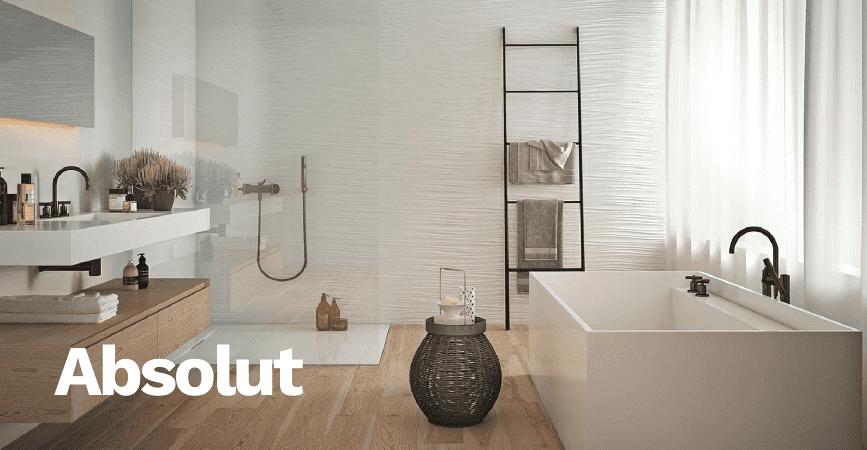 Inspirace moderní koupelny ze série ABSOLUT