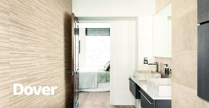 Inspirace koupelny v anglickém stylu v sérii DOVER