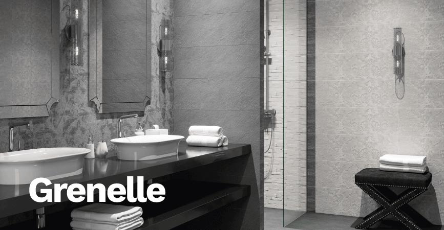 Koupelnové obklady v imitaci kamene GRENELLE