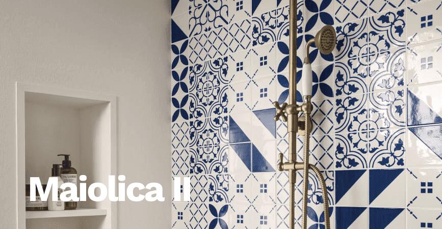 Pestré a dekorativní obklady ze série MAIOLICA II.