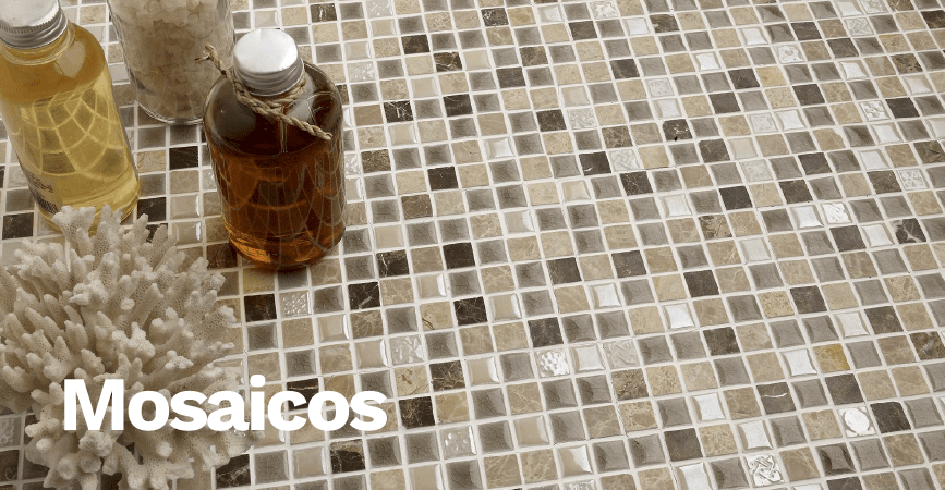 Inspirace koupelny - rozmanitá série MOSAICOS