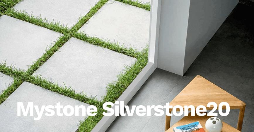 Série venkovní dlažby Mystone Silverstone