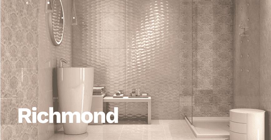Inspirace světlé koupelny ze série RICHMOND