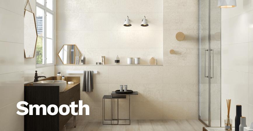 Inspirace moderní koupelny ze série SMOOTH