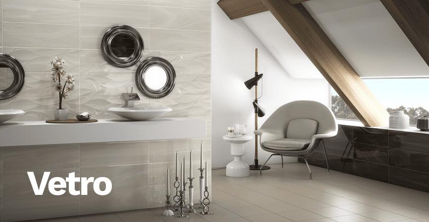 Inspirace moderní koupelnové série VETRO