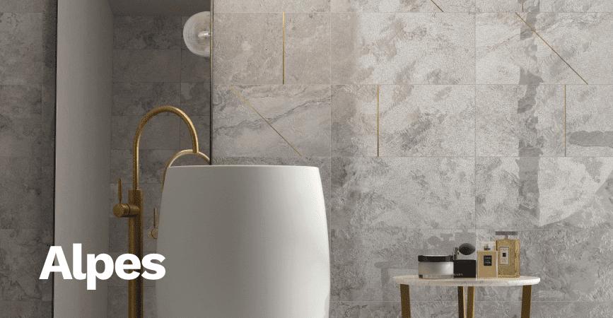 Inspirace moderní koupelny ALPES