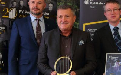 Velký úspěch a ocenění dlouholeté tvrdé práce aneb titul Podnikatel roku 2019 Plzeňského kraje