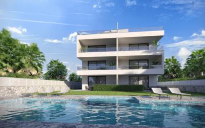 Luxusní apartmány Bibinje vChorvatsku