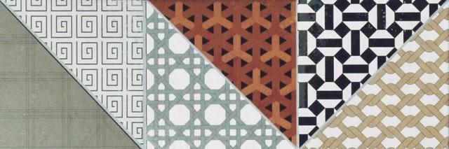 dekorativní dlaždice DECO 15 x 45