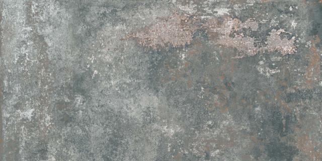 Matně zelená velkoformátová dlaždice GHOST