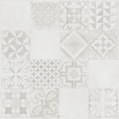 bílý dekorativní obklad SOLID
