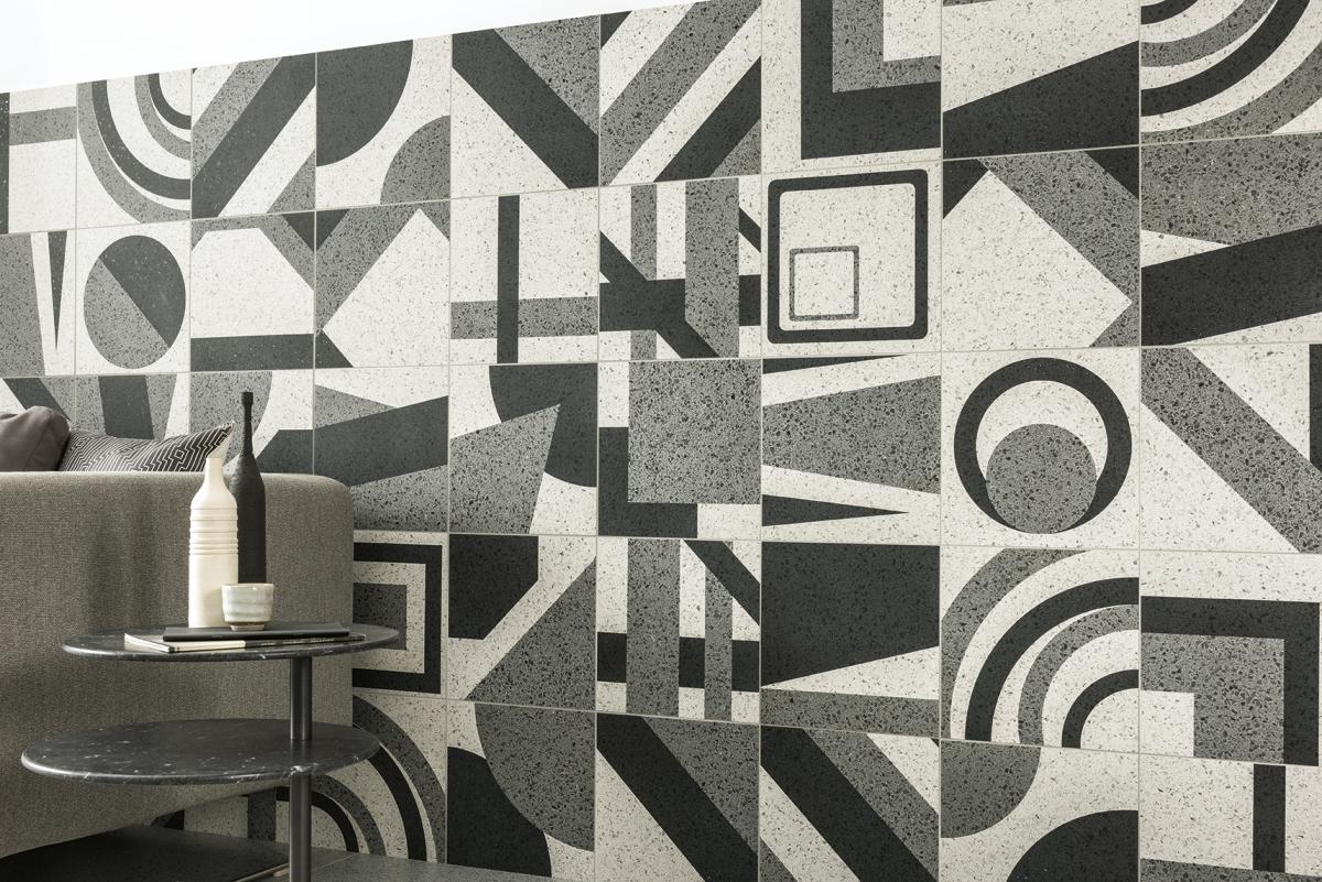 geometrická dlažba AUTORE Panello Capri