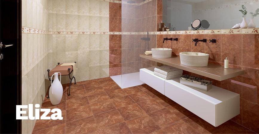 Inspirace koupelnové obklady ze série ELIZA