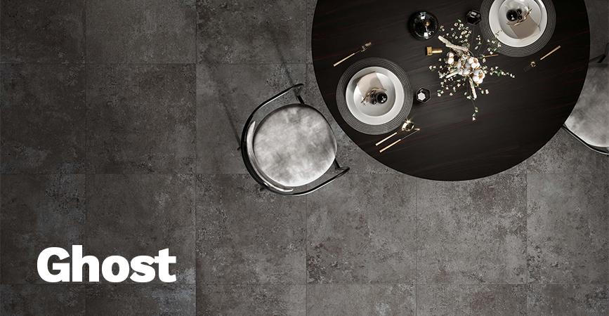Velkoformátová série Ghost v imitaci betonu