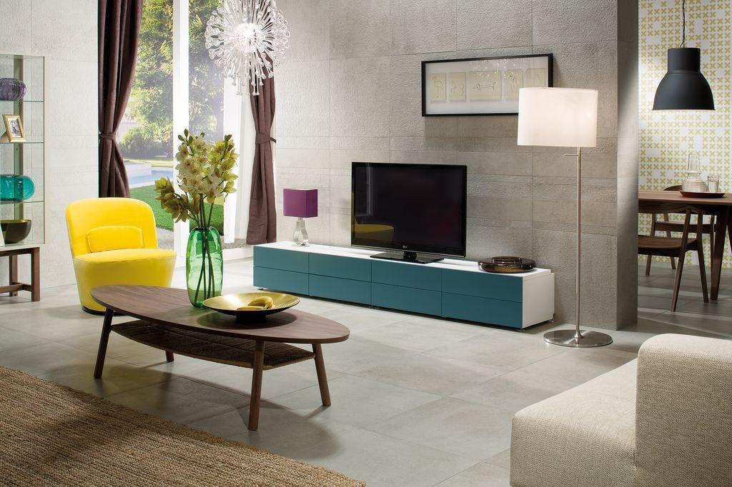 Obklady a dlažba v imitaci betonu série CEMENTO
