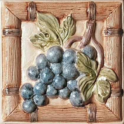 Kuchyňský dekor PETRAIA Fructis MIX BE/BI/AL grape