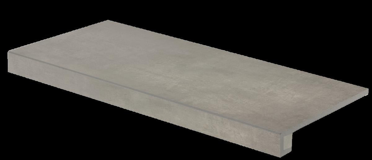 Schodová tvarovka EXTRA, 40 x 80 cm, Hnědo - šedá