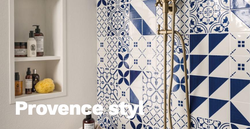 Provence styl - úvodní stránka