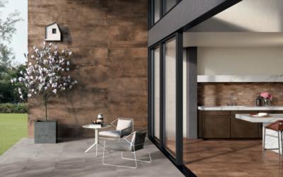 Neotřelý industriál i nová tvář minimalismu – obklady imitace kovu
