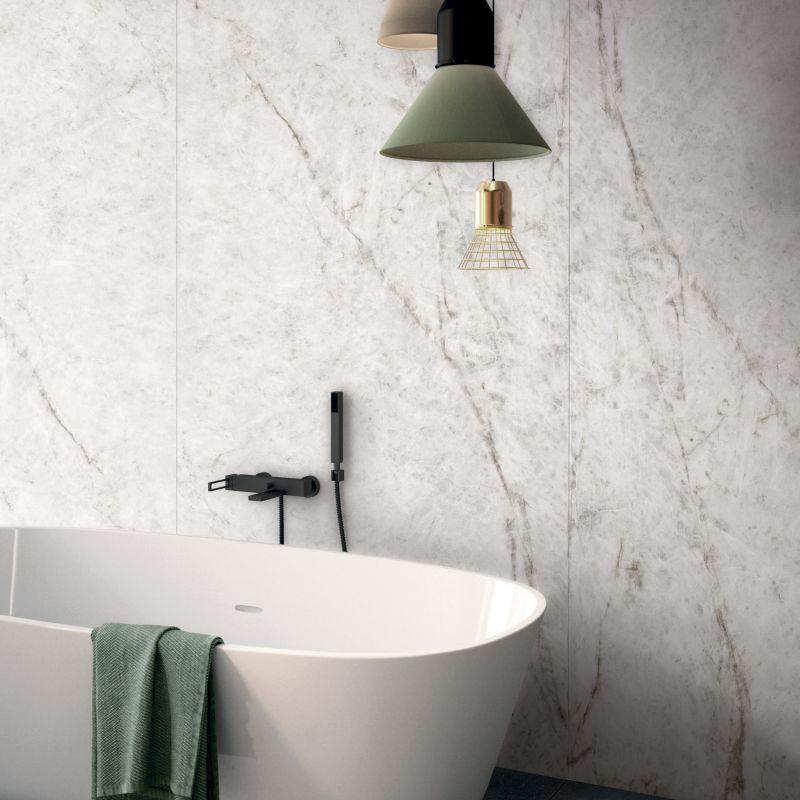 Luxusní koupelnové obklady v imitaci Mramoru Sensi Wide