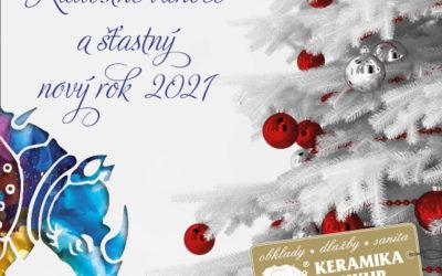 Radostné Vánoce a šťastný nový rok 2021