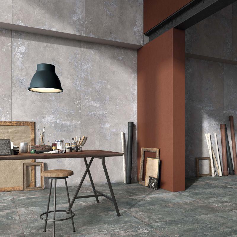 Velkoformátové obklady na zeď Ghost v imitaci betonu